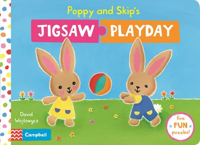 Book cover for Poppy and Skip's Jigsaw Playday